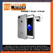 IPHONE 7 PLUS / 8 PLUS ANTI SHOCK DROP PROOF TRANSPARENT PROTECTION COVER CLEAR CASE IPHONE 5 5S SE IPHONE 6 6S IPHONE 6+ 6S+ IPHONE 7 IPHONE 8