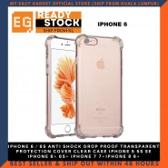 IPHONE 6 / 6S ANTI SHOCK DROP PROOF TRANSPARENT PROTECTION COVER CLEAR CASE IPHONE 5 5S SE IPHONE 6+ 6S+ IPHONE 7 7+IPHONE 8 8+