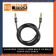 AVANTREE TR303 3.5MM MALE TO MALE AUDIO AUX CABLE