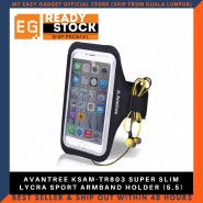 AVANTREE KSAM-TR803 SUPER SLIM LYCRA SPORT ARMBAND HOLDER (5.5)