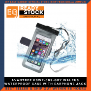 AVANTREE KSWP-009-GRY WALRUS WATERPROOF CASE WITH EARPHONE JACK