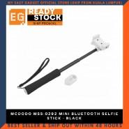 MCDODO MSS-0292 MINI BLUETOOTH SELFIE STICK - BLACK