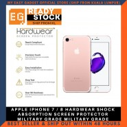 APPLE IPHONE 7 / 8 HARDWEAR SHOCK ABSORPTION SCREEN PROTECTOR MILITARY GRADE MILITARY GRADE