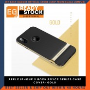 APPLE IPHONE X ROCK ROYCE SERIES CASE COVER- GOLD