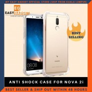 HUAWEI NOVA 2I ANTI SHOCK DROP PROOF TRANSPARENT PROTECTION COVER CLEAR CASE