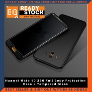 Huawei Mate 10 360 Full Body Protection Case + Tempered Glass