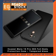 Huawei Mate 10 Pro 360 Full Body Protection Case + Tempered Glass