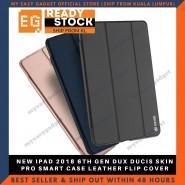 NEW IPAD 2018 6TH GEN DUX DUCIS SKIN PRO SMART CASE LEATHER FLIP COVER