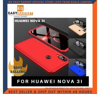 HUAWEI NOVA 3i / NOVA 3E / NOVA 3 360 FULL BODY PROTECTION CASE + TEMPERED GLASS