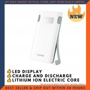 LDNIO PL1004 SELF-CONTAINED CABLE 10000MAH POWER BANK WITH DIGITAL LCD PORTABLE POWER BANK