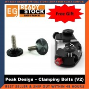Peak Design Replacement Clamping Bolts 2pcs In A Pack - Original Camera Gear [ready Stock]