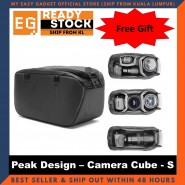 Peak Design Camera Cube Travel Bag Small Size - Original Camera Gear [ready Stock]