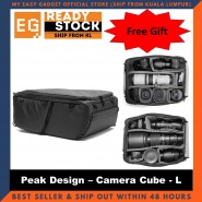 Peak Design Camera Cube Travel Bag Large Size - Original Camera Gear [ready Stock]