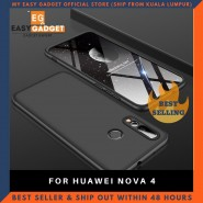 HUAWEI NOVA 4 360 FULL BODY PROTECTION CASE + TEMPERED GLASS