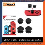 DOBE 4 in 1 Hat Handle Rocker Non-slip Cap Thumbstick Grip Caps For Nintendo Switch TNS-1873