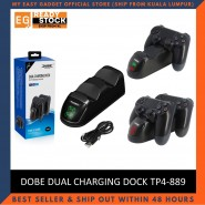 Dobe PS4 Dual Charging Dock Station With LED Indicator Light For PS4 Controller (Quick Charging) TP4-889