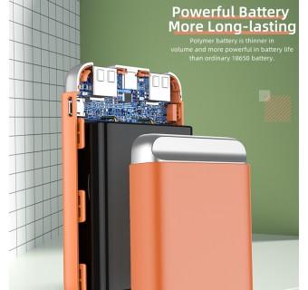Rock P71 Mini 10000mAh Power Bank Fast Charge Dual USB Output