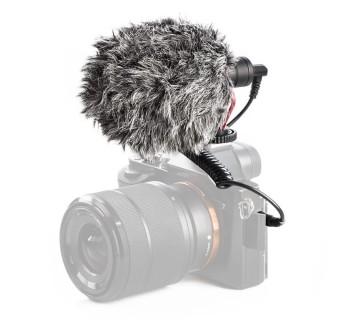 Boya BY-MM1 Cardioid Microphone Mic 3.5MM Plug for GoPro Free (ULANZI V2 Housing Case Vlogging Frame)