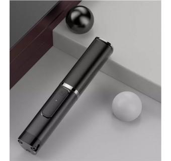 Wireless Mini Portable Foldable Selfie Stick Aluminum Holder Monopod Selfie Stick Mobile Tripod Phantom999 - Black