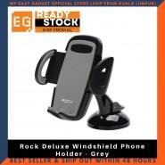 Rock Deluxe Windshield Phone Holder - Grey